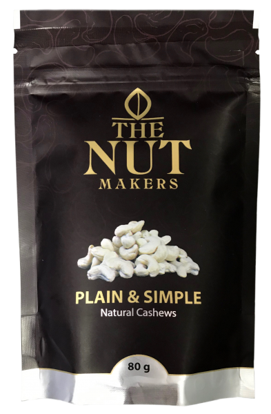 """The Nut Makers"" 原味腰果 80G"