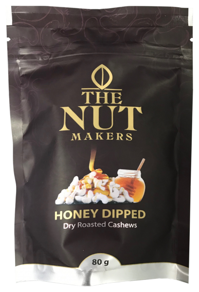 """The Nut Makers"" 蜜糖味乾烤腰果 80G"