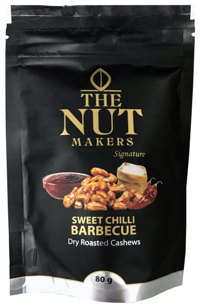 """The Nut Makers"" 甜辣燒烤味乾烤腰果 80G"