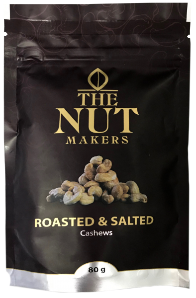 """The Nut Makers"" 鹽焗腰果 80G"